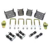 Gasser Straight Axle Mounting Hardware